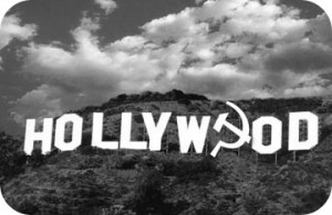 hollywood sign b&w curves
